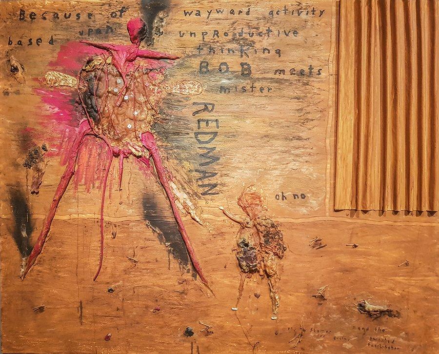 Mr. Redman - David Lynch art