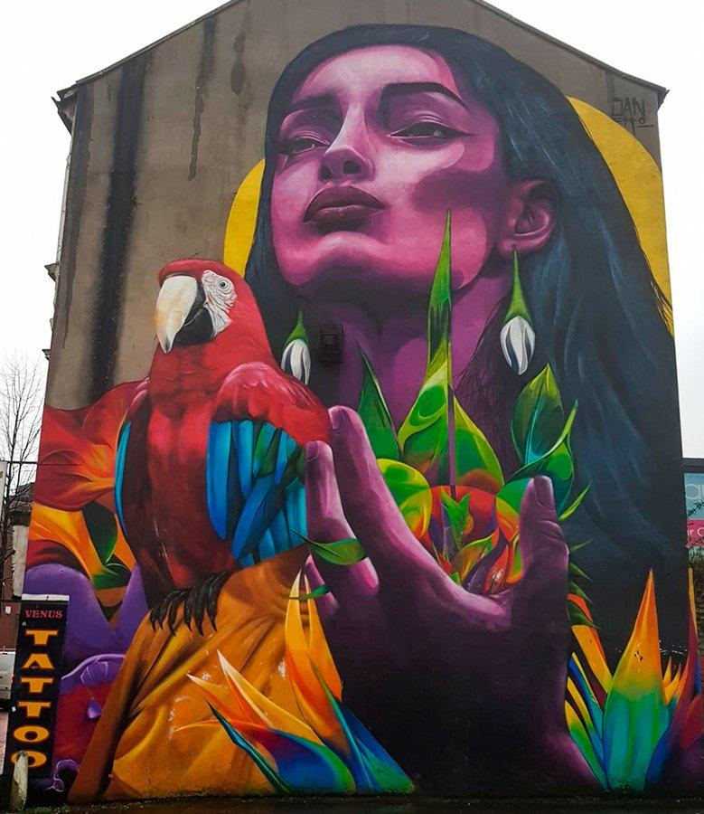 Belfast Graffiti Art