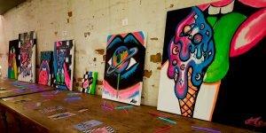 Katie Lee Manchester Art Exhibition