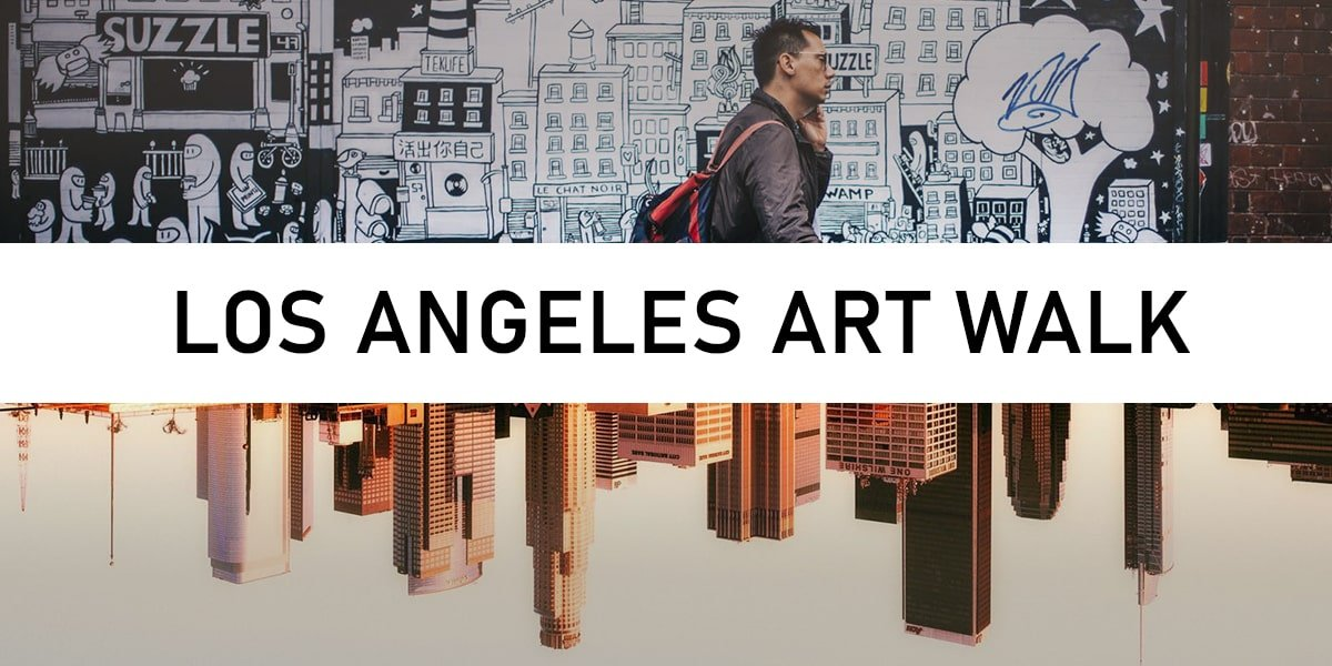 los angeles art walk