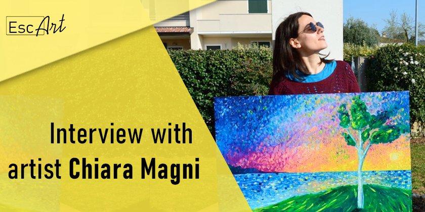 Italian painter Chiara Magni