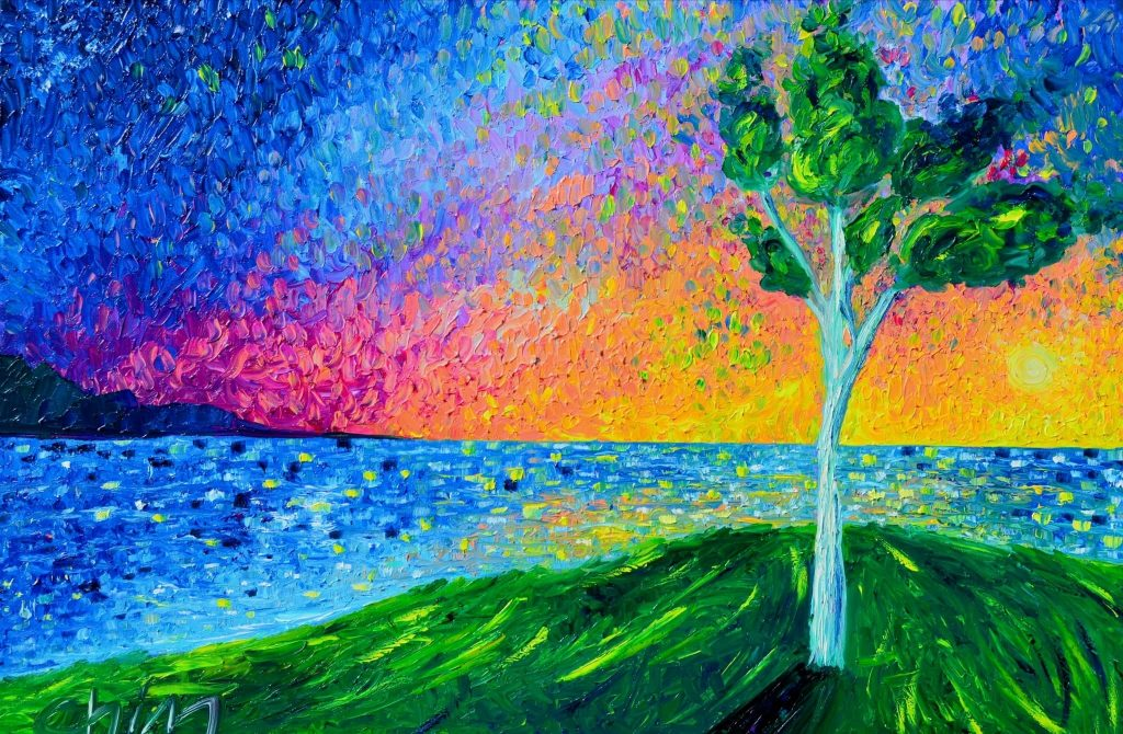 Chiara Magni Italian painter artist landscape artwork