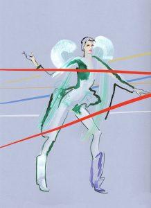 Kathy-Wyatt-Drawing Cabaret Couture