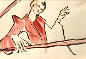 Loni-Mills-Drawing Cabaret Couture