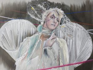 Susan-Challinor-Drawing Cabaret Couture