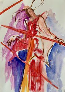 VanessaLawrence,GerhardRichter-Drawing Cabaret Couture